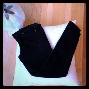LUCKY 🍀 BRAND BLACK VELVET JEANS